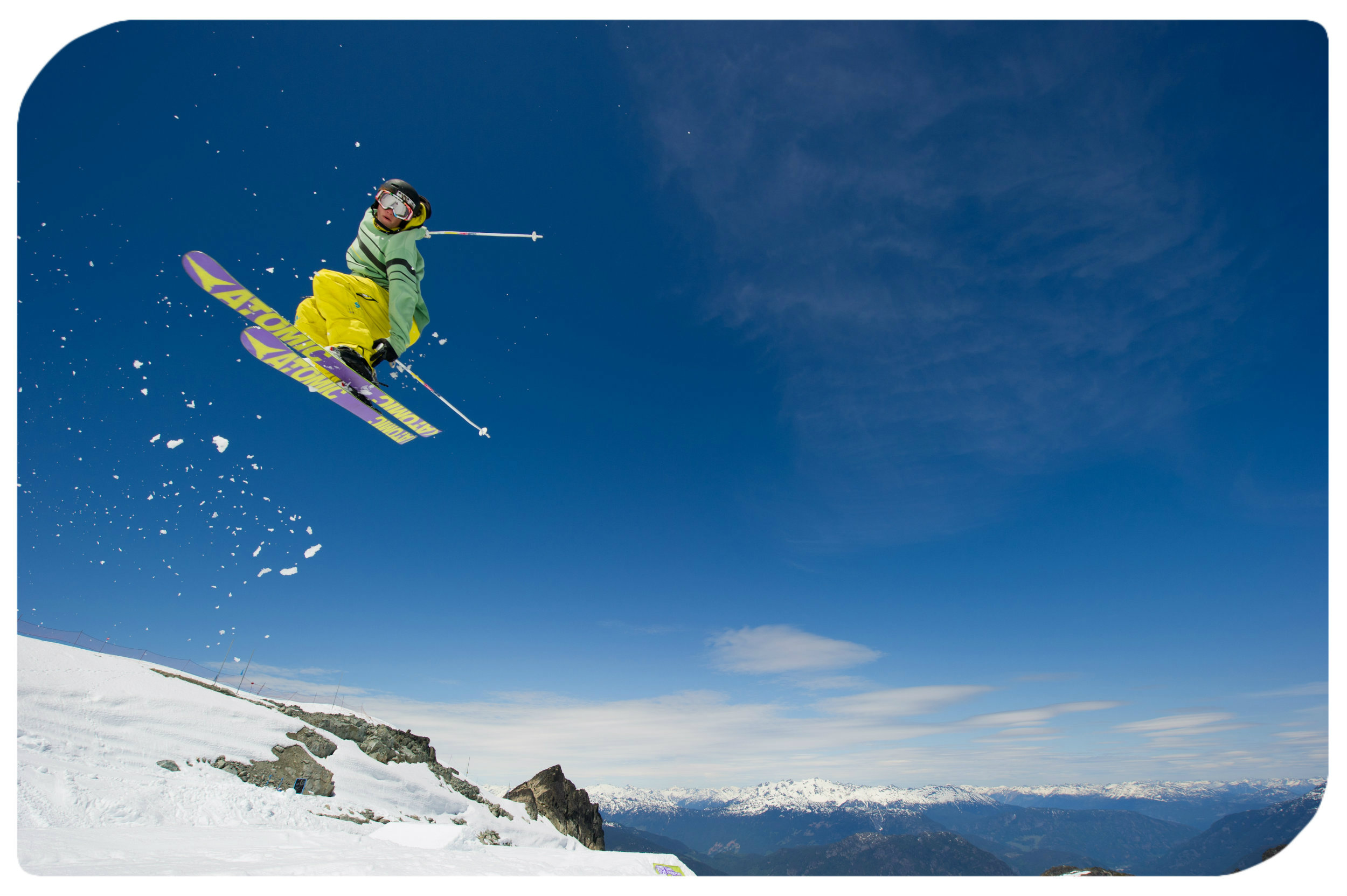 Snow Sports Whistler Blackcomb-Tourism Whistler/Mike Crane